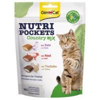 GimCat Nutri Pockets Country МІКС, 150 г