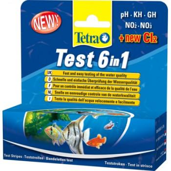 Tetra Test (тест води) 6in1 (Тетра)